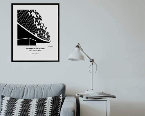 Graphic artprint - Collection Museum Design
